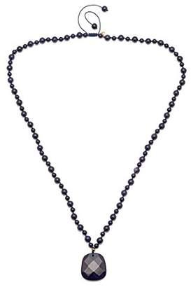 Lola Rose Colette Blue Sandstone Necklace of 80 cm