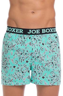 Joe Boxer Shamrock Paisley Loose Boxers