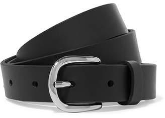 Etoile Isabel Marant Zap Leather Belt - Black