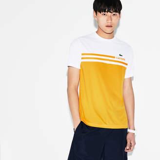 Lacoste (ラコステ) - カラーブロック テクニカルピケ テニス Tシャツ (半袖)