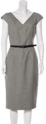 Michael Kors Sleeveless Midi-Dress
