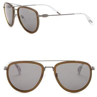 Lanvin 53mm Aviator Sunglasses