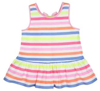 Gerber Graduates Baby Toddler Girl Bow Back Peplum Tank