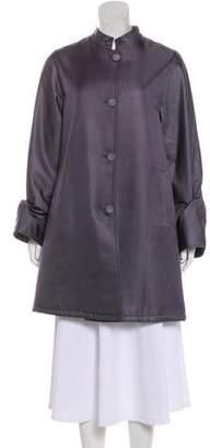 Emporio Armani Twill Knee-Length Coat