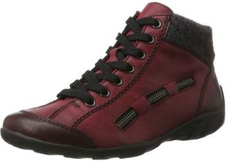 Rieker Women Ankle Boots red, (wine/anthrazit) L6543-35