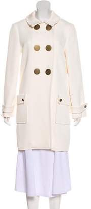 Lanvin Double-Breasted Knee-Length Coat