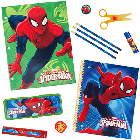 Disney Spider-Man School Supply Kit