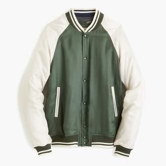 J.Crew Wallace & Barnes letterman jacket