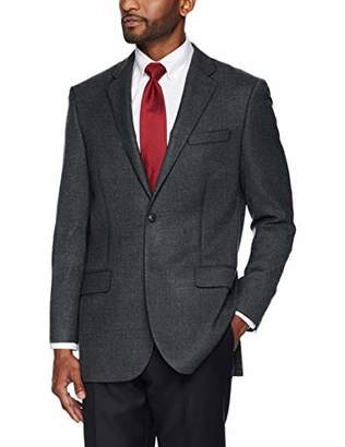 Buttoned Down Men's Classic Fit Super 110 Italian Wool Hopsack Blazer