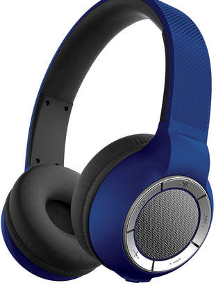 Sharper Image Blue SBT658 Ultra-Premium Wireless Headphones