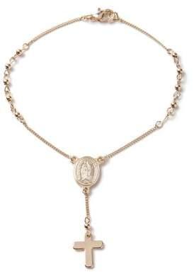 Topman Mens Gold Rosary Bracelet*