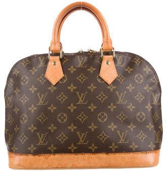 Louis Vuitton Monogram Alma MM $495 thestylecure.com