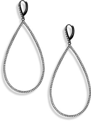 Lisa Freede Micro Pave Teadrop Earrings