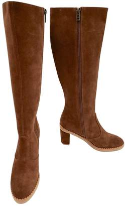 See by Chloe Brown Suede Boots