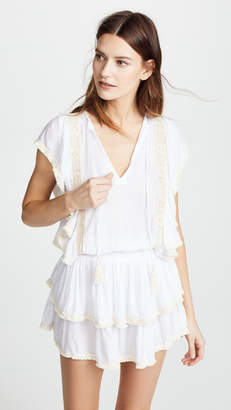Cool Change coolchange Solid Fringe Quinn Tunic