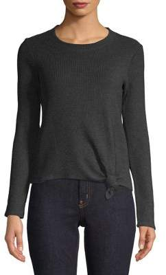 Madewell Ribbed Cotton Blend Top