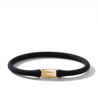 18K Yellow Gold Fortune Barrel Bracelet