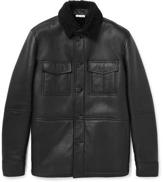 Tomas Maier Shearling Jacket