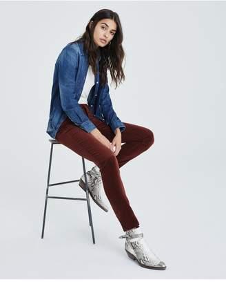 AG Jeans The Prima - Rich Crimson