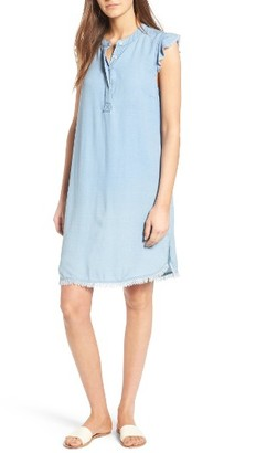 Women's Splendid Chambray Shift Dress $148 thestylecure.com