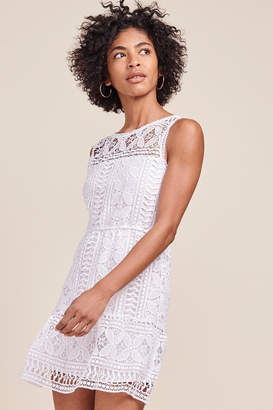 BB Dakota White Lace Mini