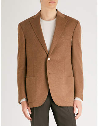 Corneliani Tailored-fit cashmere jacket