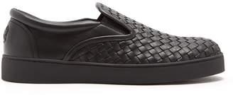 Bottega Veneta Dodger slip-on Intrecciato leather trainers