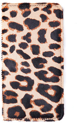 William Shanghai Cheetah Print Hair Wallet