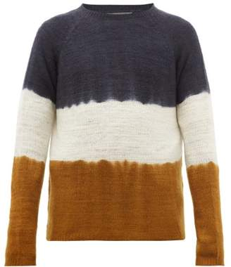 Denis Colomb Hand Dyed Cashmere Sweater - Mens - Yellow Multi
