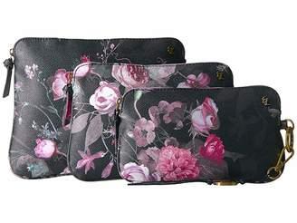 Elliott Lucca Artisan Three-Piece Cosmetic Cosmetic Case