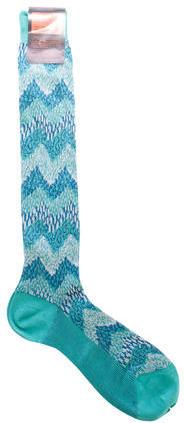 MissoniM Missoni Chevron Knit Socks w/ Tags