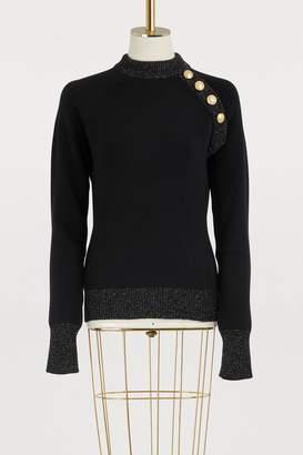 Balmain Wool and cashmere sweater