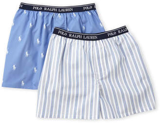 Polo Ralph Lauren Boys 8-20) Two-Pack Boxers