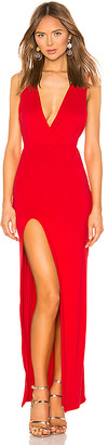 superdown Erika Deep V Jersey Maxi