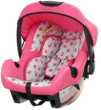O Baby Obaby Chase Group 0+ Infant Car Seat (Cottage Rose)