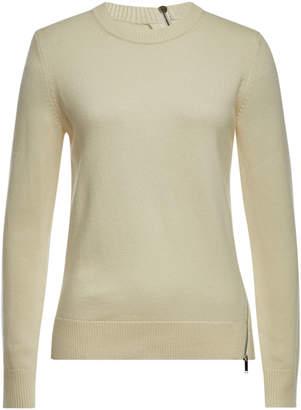 Proenza Schouler Zipper-Trim Pullover with Wool, Silk and Cashmere
