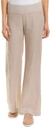 Three Dots Wide Leg Linen Pant