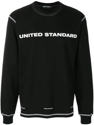 United Standard logo patch sweatshirt