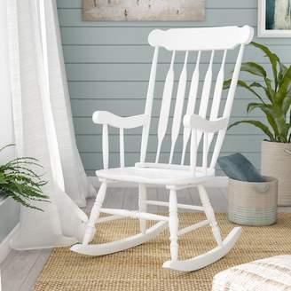 Beachcrest Home Asia Rocking Chair Frame