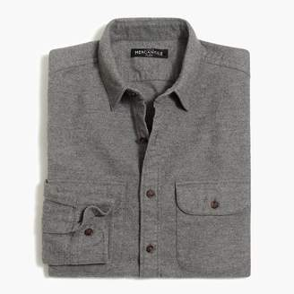 J.Crew Tall rugged elbow-patch shirt