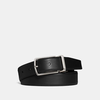 COACH Coach Modern Harness Cut-To-Size Reversible Smooth Leather Belt $150 thestylecure.com