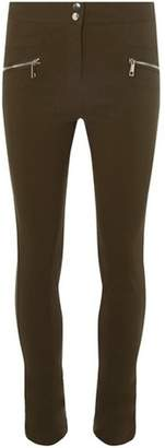 Dorothy Perkins Womens **Tall Khaki Zip Skinny Trousers