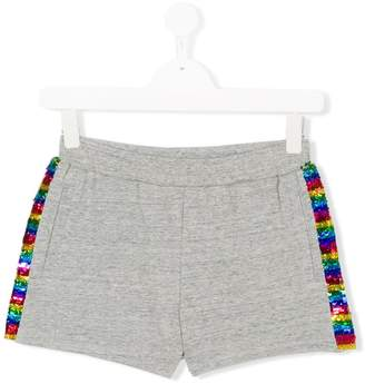 Little Marc Jacobs sequinned sides smart shorts