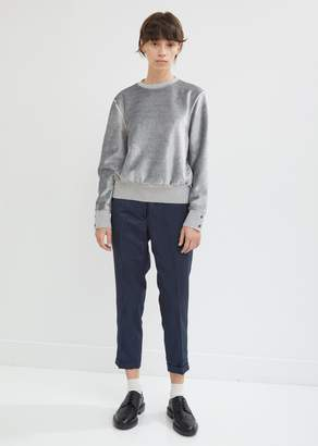 Thom Browne Moire Tracee Skinny Trousers