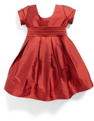 Isabel Garreton Cap Sleeve Taffeta Dress