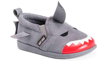 Muk Luks Finn The Shark Toddler Slip-On Sneaker - Boy's