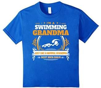 Funny Swimming Grandma Tshirt Christmas Gift for Grandma