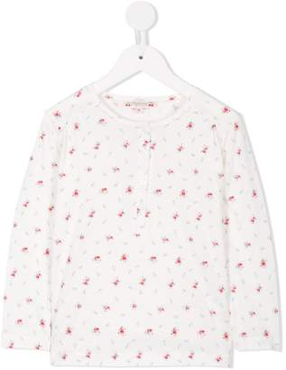 Bonpoint floral print pajama set
