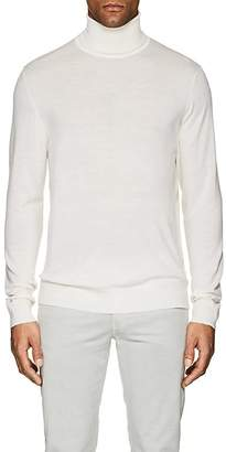 P. Johnson Men's Merino Wool Turtleneck Sweater