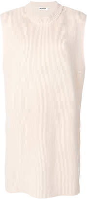 Jil Sander knitted sleeveless sweater